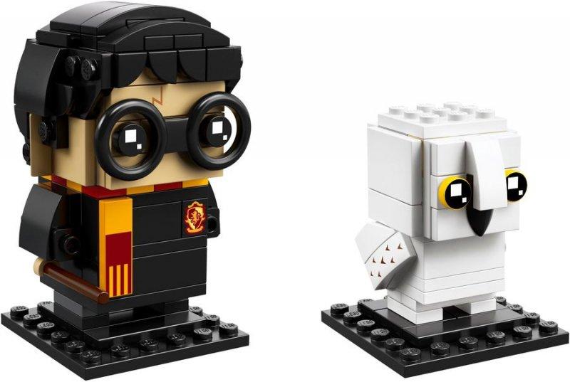 Image of   Lego - Brickheadz - Harry Potter & Hedvig (41615)