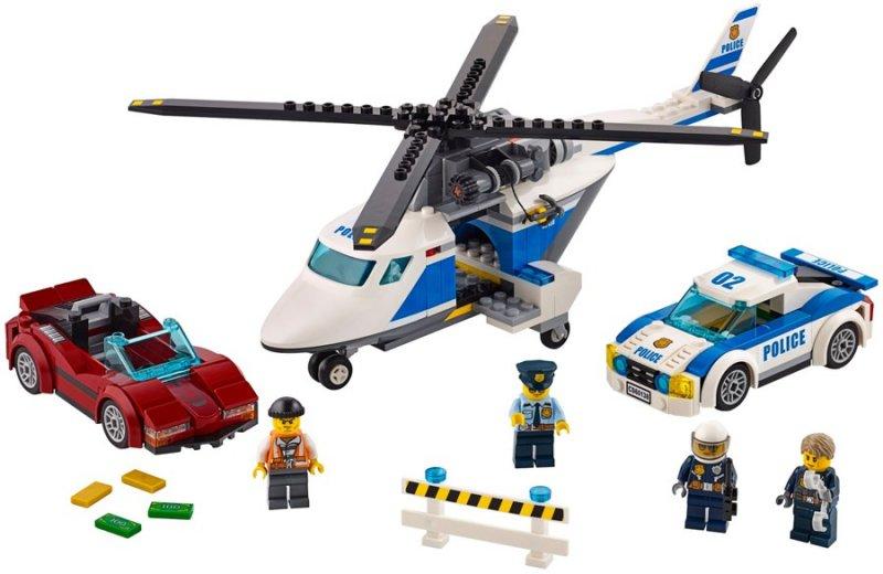 Image of   Lego City 60138 - Jagt I Høj Fart