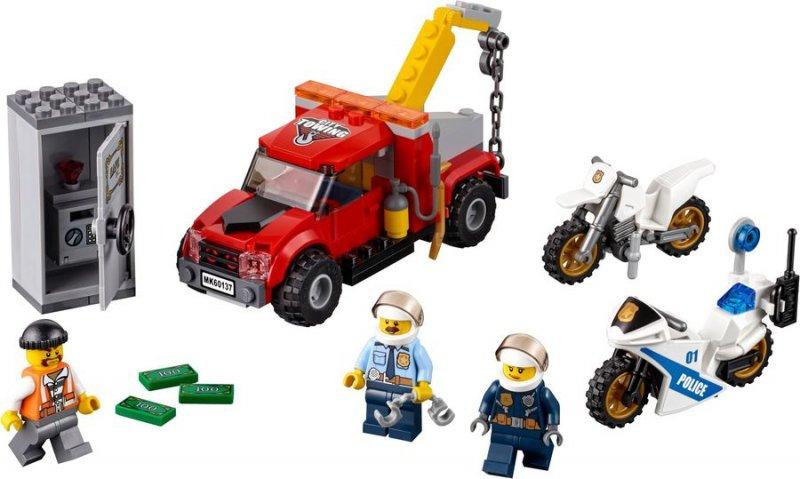 Image of   Lego City 60137 - Kranvogn-kaos