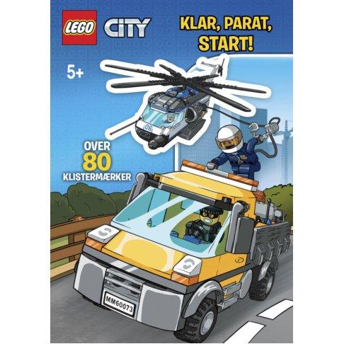 LEGO, City, opgaver, stickers, klistermærker