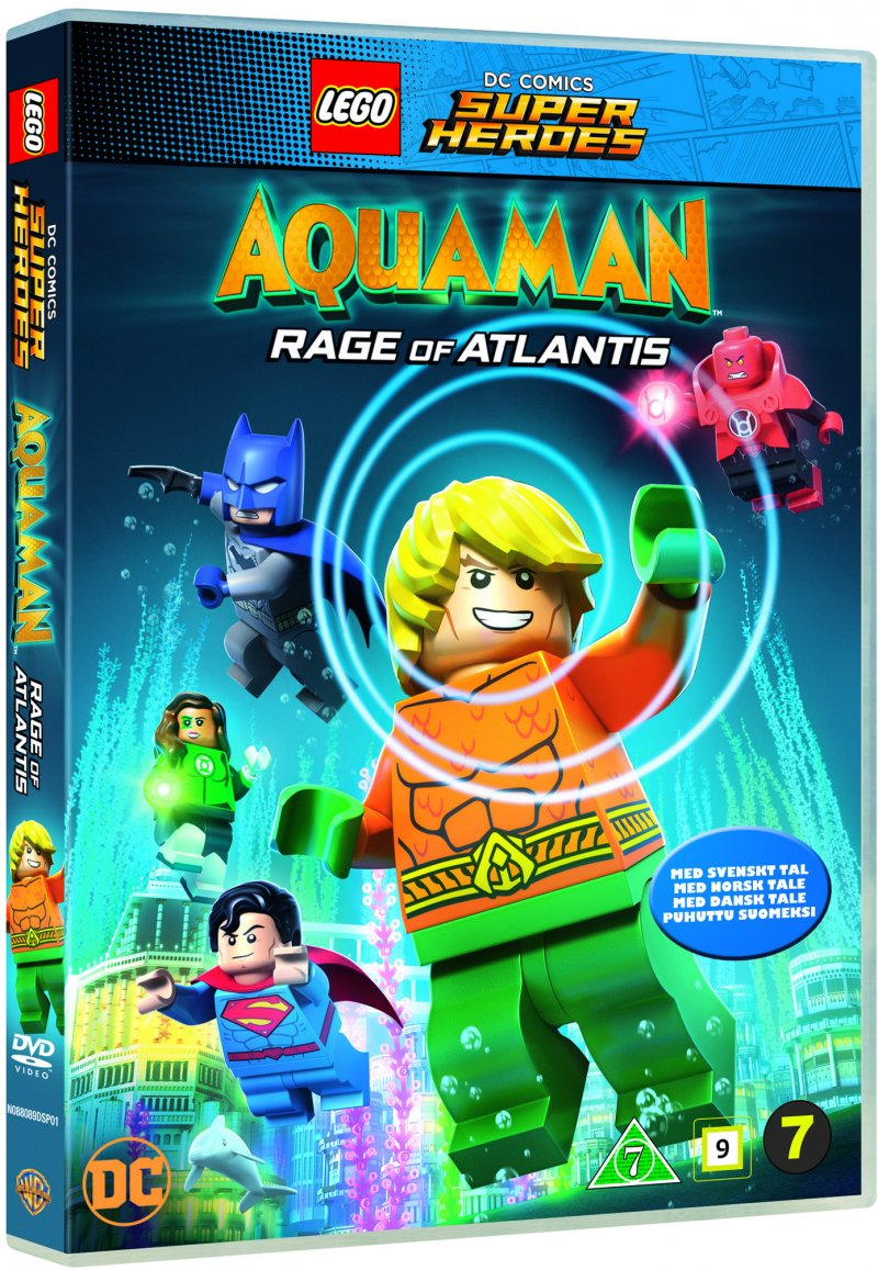 Image of   Aquaman Lego Movie - Rage Of Atlantis - DVD - Film