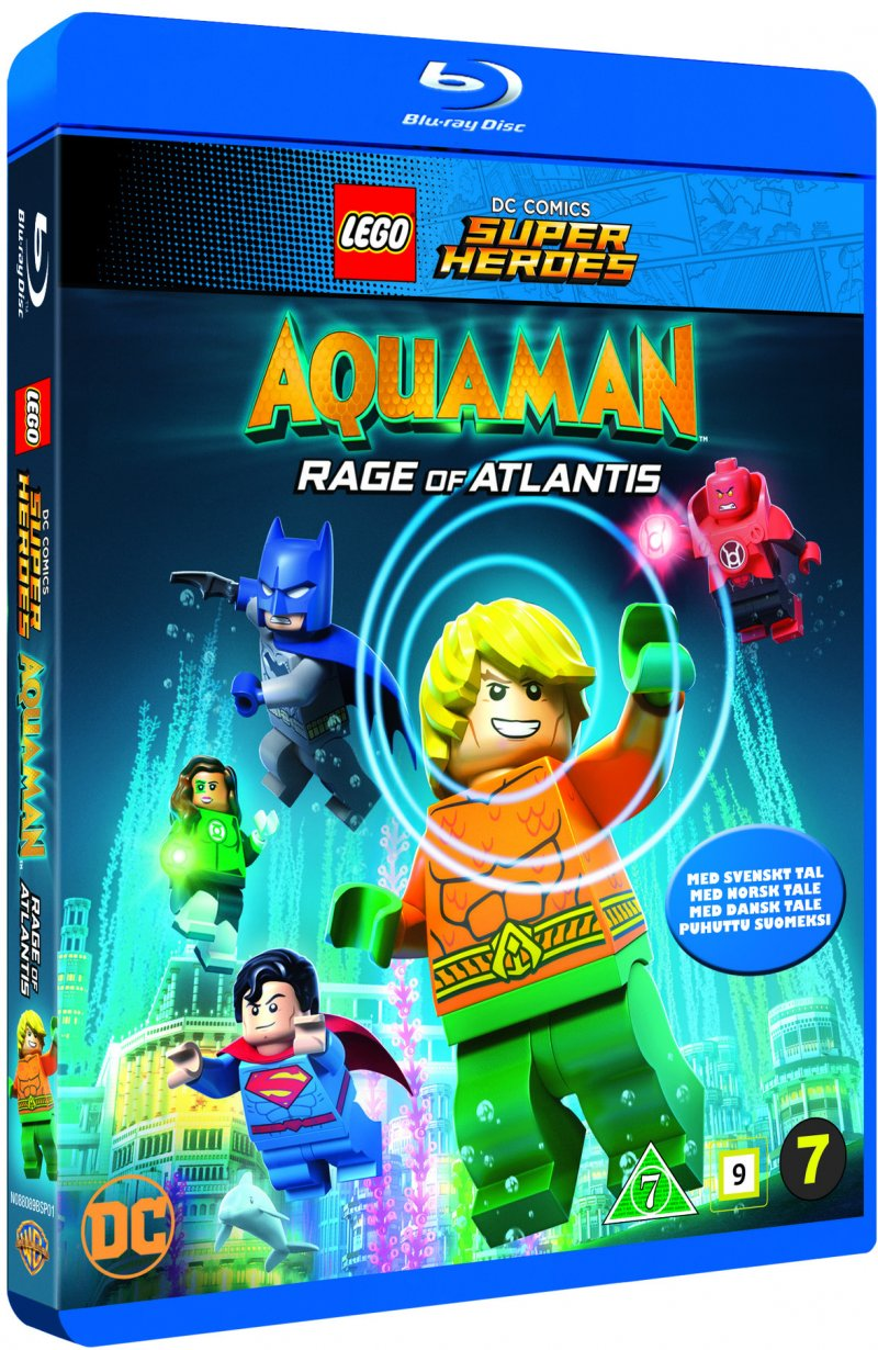 Image of   Aquaman Lego Movie - Rage Of Atlantis - Blu-Ray