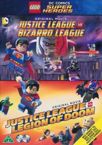 Billede af Lego Dc Comics Super Heroes: Justice League Vs. Bizarro League // Justice League Vs Legion Of Doom - DVD - Film