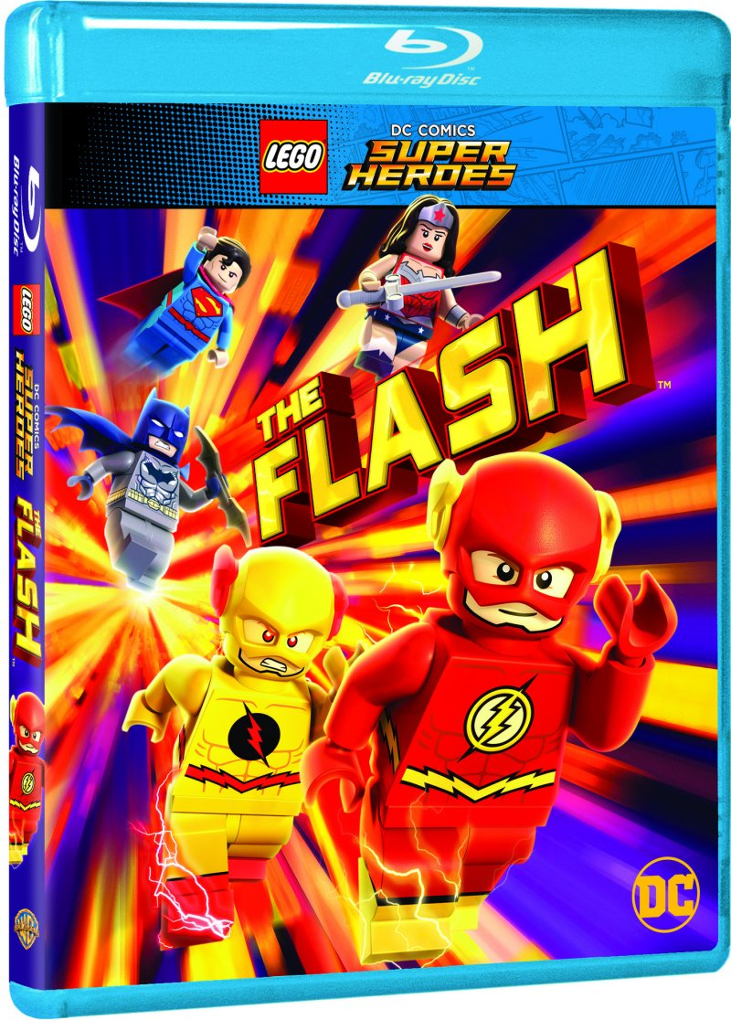 Image of   Lego Dc Comics Super Heroes: The Flash - Blu-Ray