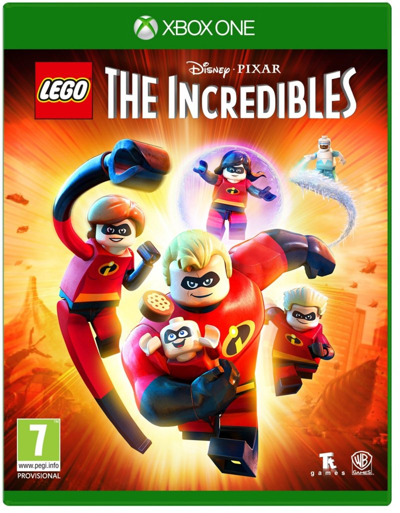 Image of   De Utrolige / The Incredibles - Lego - Xbox One