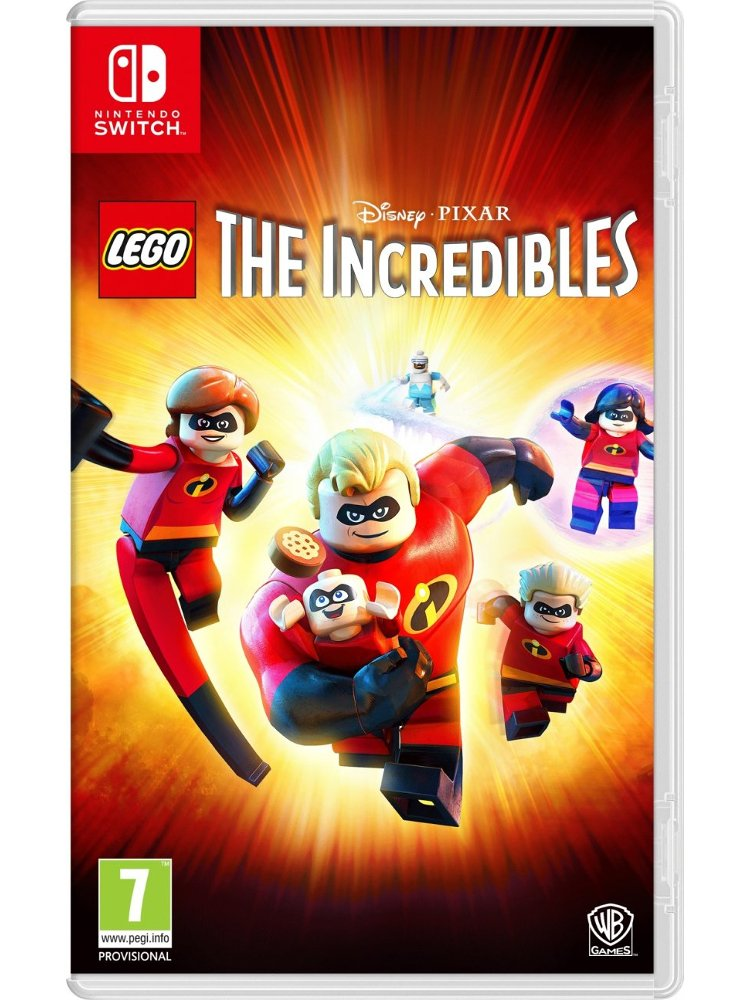Image of   Lego De Utrolige - Nintendo Switch