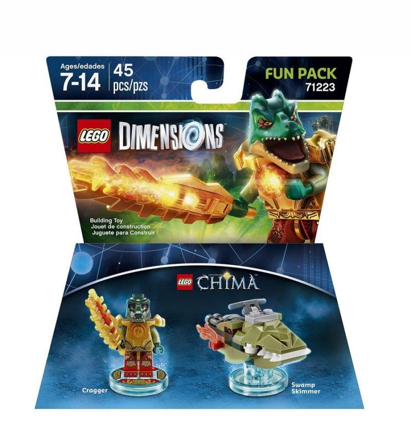 Lego Dimensions Figur - Fartøj Og Cragger