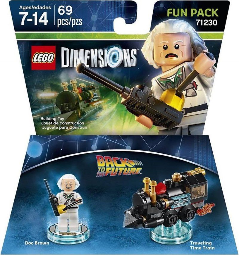 back to the future, tilbage til fremtiden, lego dimensionen, lego computerspil, lego dimensions fun packs, lego figuren, legofigur