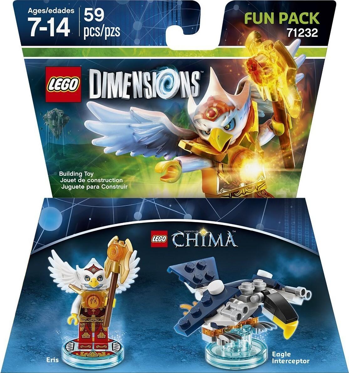 Lego 71232, chima lego dimensions, eris lego dimensions, lego dimensioner, eris fun pack, lego dimensions fun packs