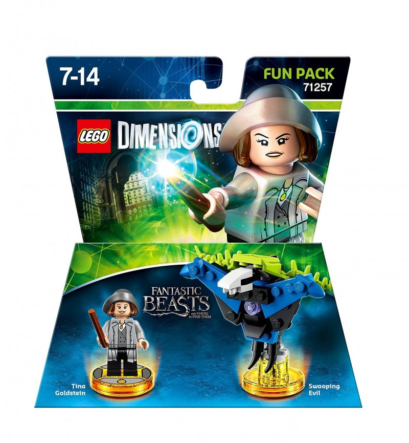 Fantastic beasts and where to find them story pack, fantastic beasts lego dimensions, lego 71253, lego dimensioner
