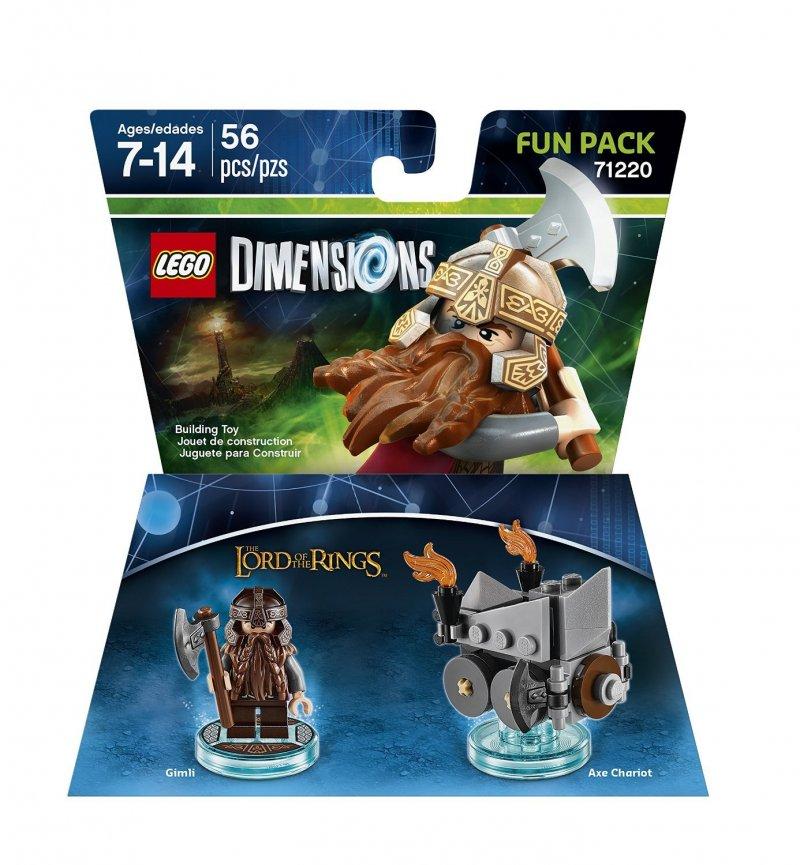 Lego Dimensions Fun Packs Lord Of The Rings - Gimli