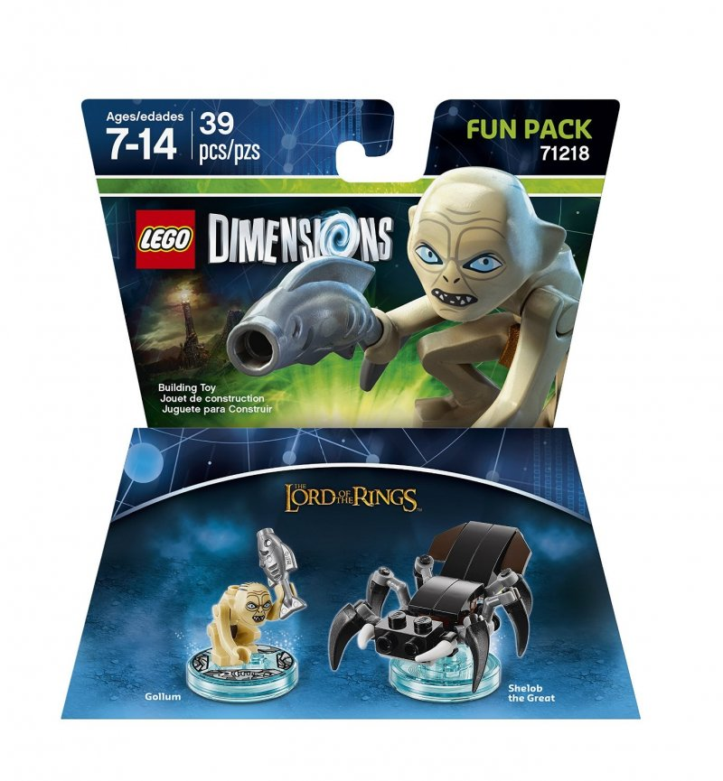 Lego Dimensions Fun Packs Lord Of The Rings - Gollum