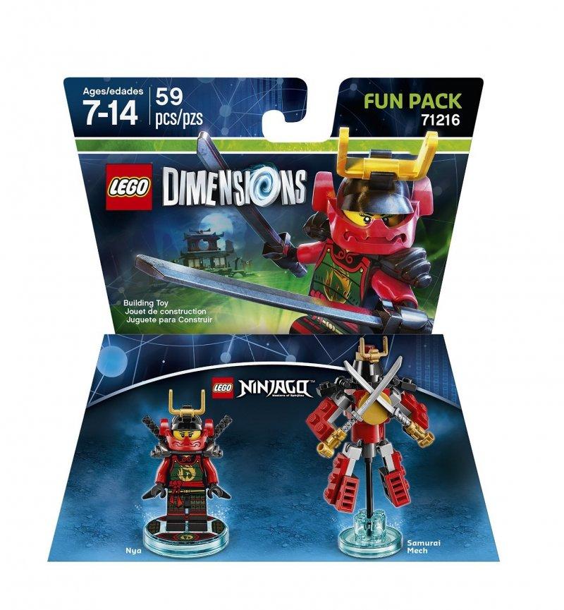 lego 71216, lego dimensioner, lego dimensions ninja, ninja lego dimensions, lego ninjargo, lego dimensions fun packs
