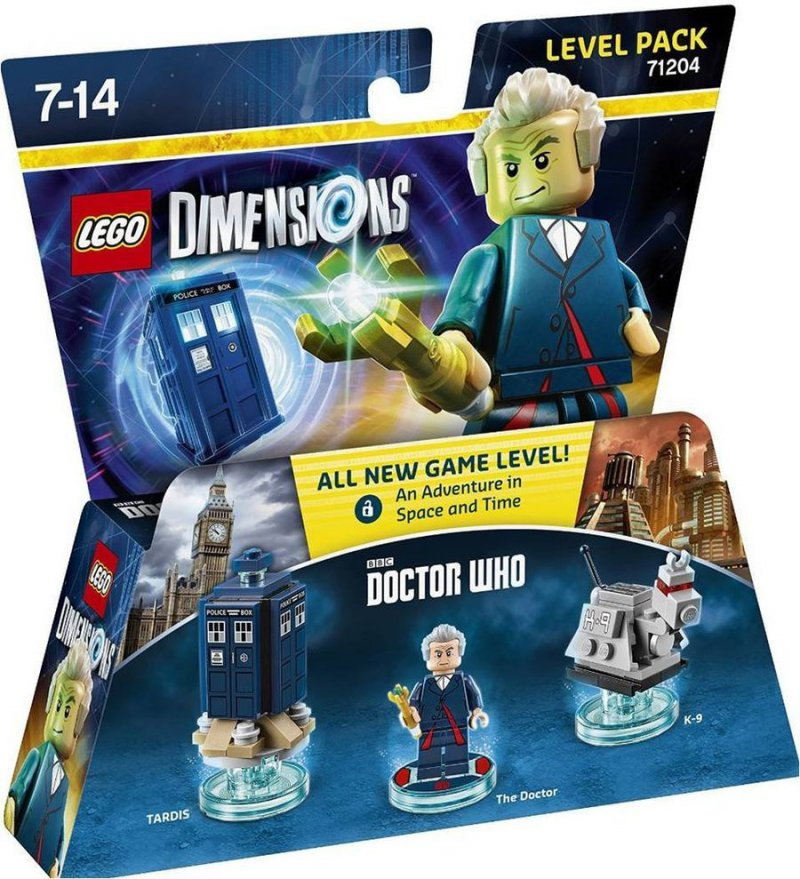 (71204), dr who, lego dimensionen, lego computerspil, lego dimensions fun packs, lego figuren, legofigur