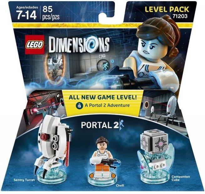 lego 71203, lego dimensioner, lego dimensions level pack portal 2, portal lego dimensions, portal 2 lego dimensions