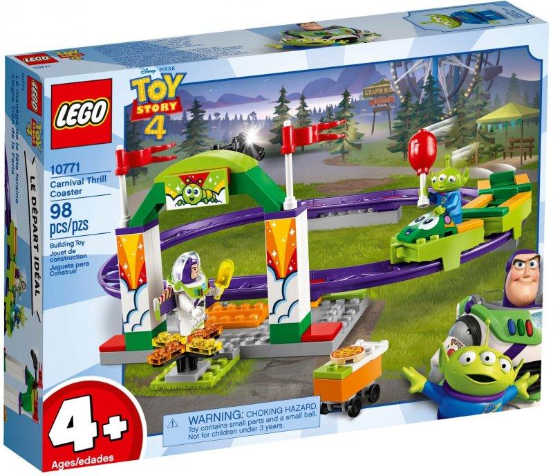 Topmoderne Lego Disney - Toy Story 4 - Tivoli Rutsjebane - 10771 → Køb LD-63