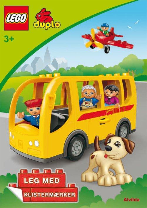 Image of   Lego Duplo - Bussen - Sjov Med Klistermærker - Lego - Bog