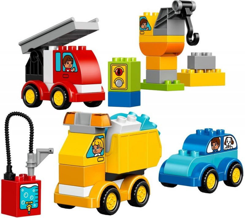 Lego Duplo 10816 - Mine Første Biler Og Lastbiler