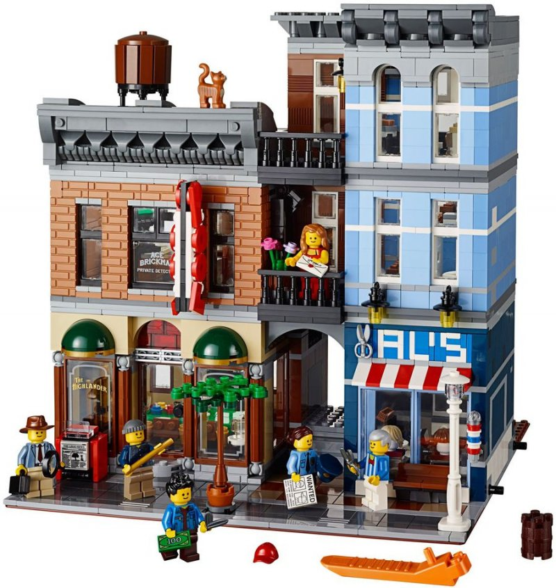 Image of   Lego Exclusive 10246 - Detektivens Kontor