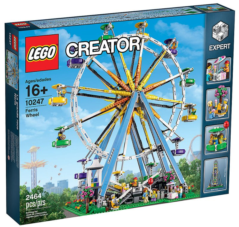 Image of   Lego Exclusive 10247 - Pariserhjul