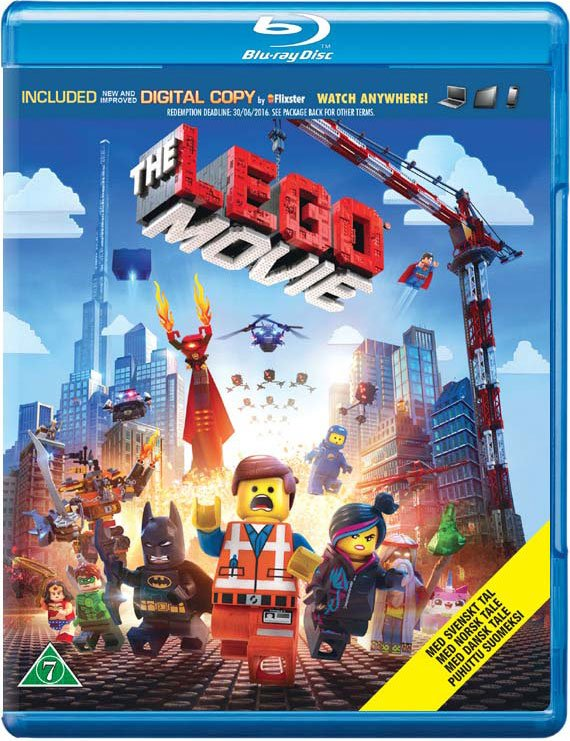 Image of   Lego The Movie / Lego Filmen - Blu-Ray