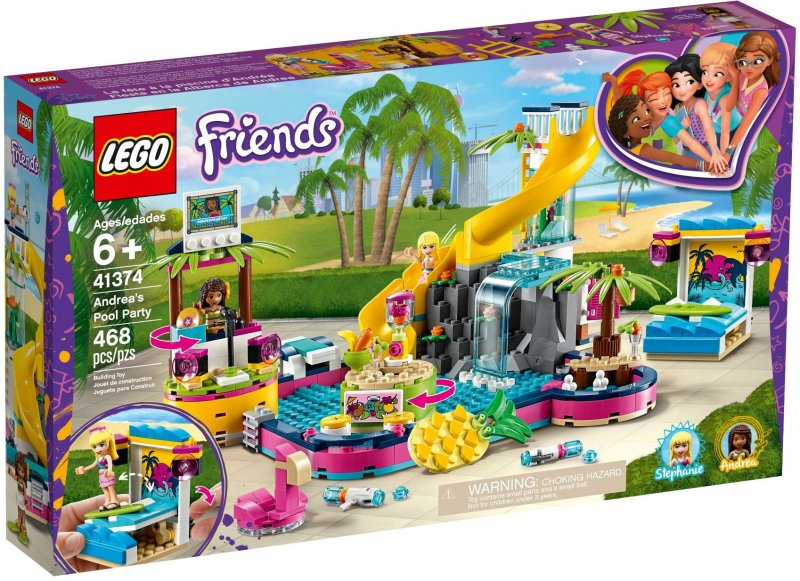 Image of   Lego Friends - Andreas Pool Party - 41374