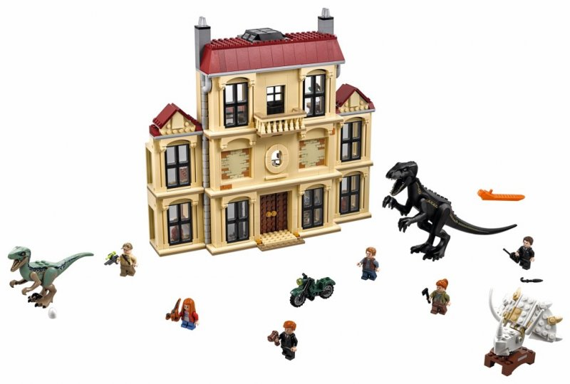 Image of   Lego Jurassic World 75930 - Indoraptor-kaos På Lockwood Estate