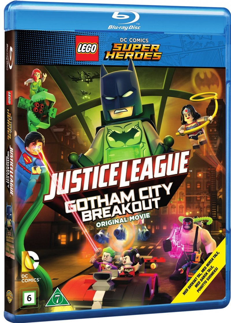 Image of   Lego Justice League: Gotham Breakout - Blu-Ray