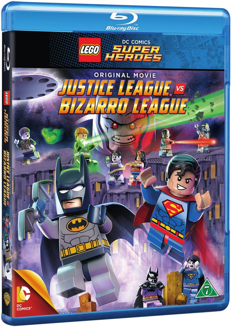 Image of   Dc Comics Super Heroes: Justice League Vs. Bizarro League - Blu-Ray