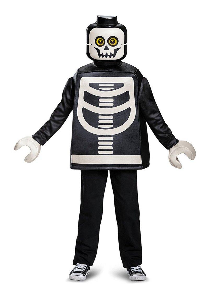 Image of   Lego Skelet Kostume Deluxeudgave - 4-6 år