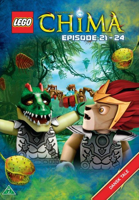 Lego: Legends Of Chima 6 - Episode 21-24 - DVD - Film