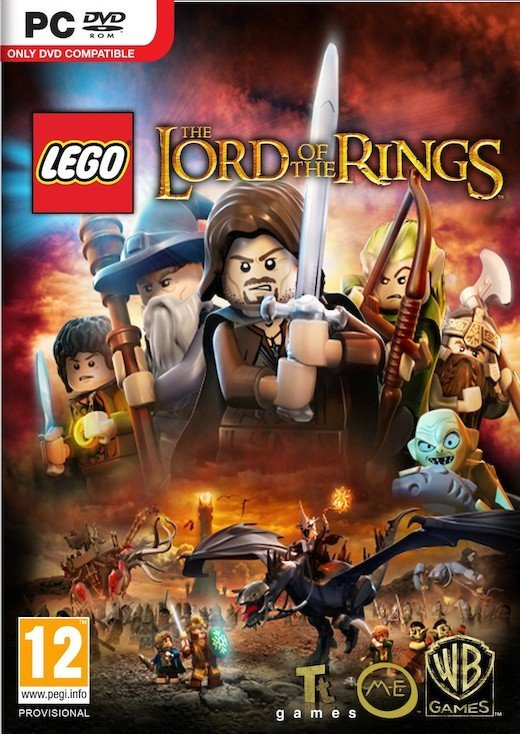 Image of   Lego Lord Of The Rings - PC