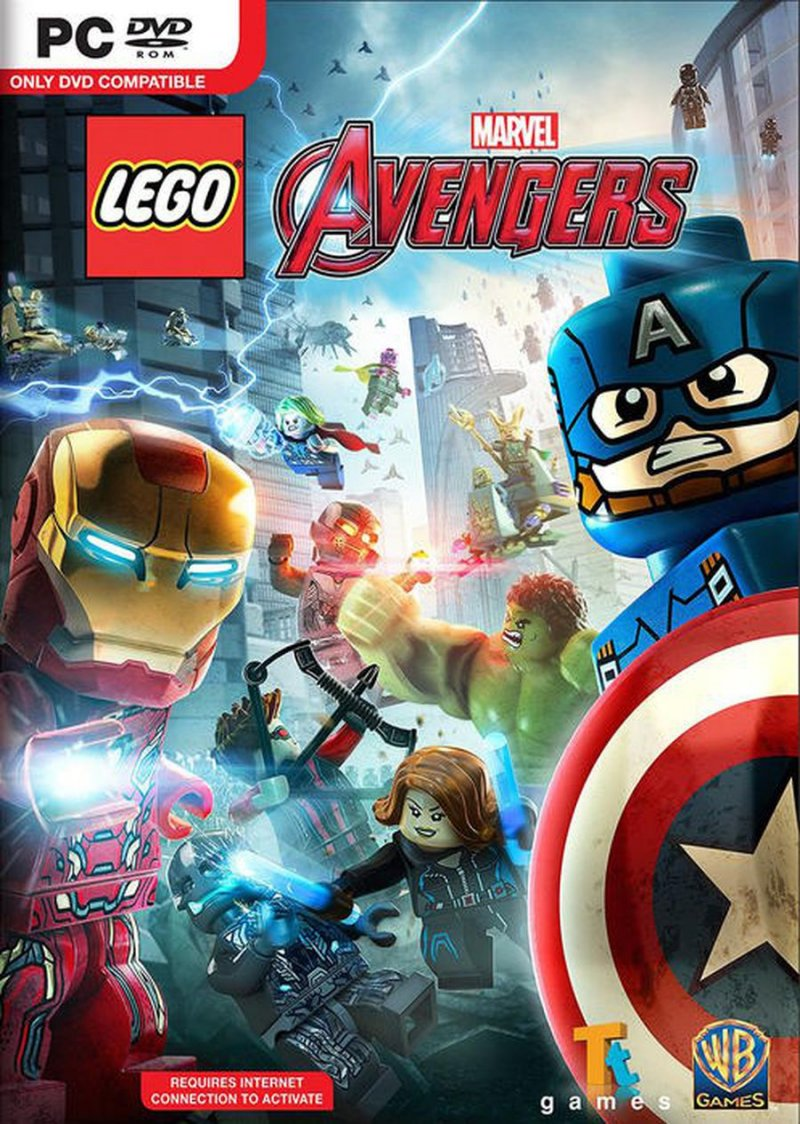 Image of   Lego: Marvel Avengers - PC