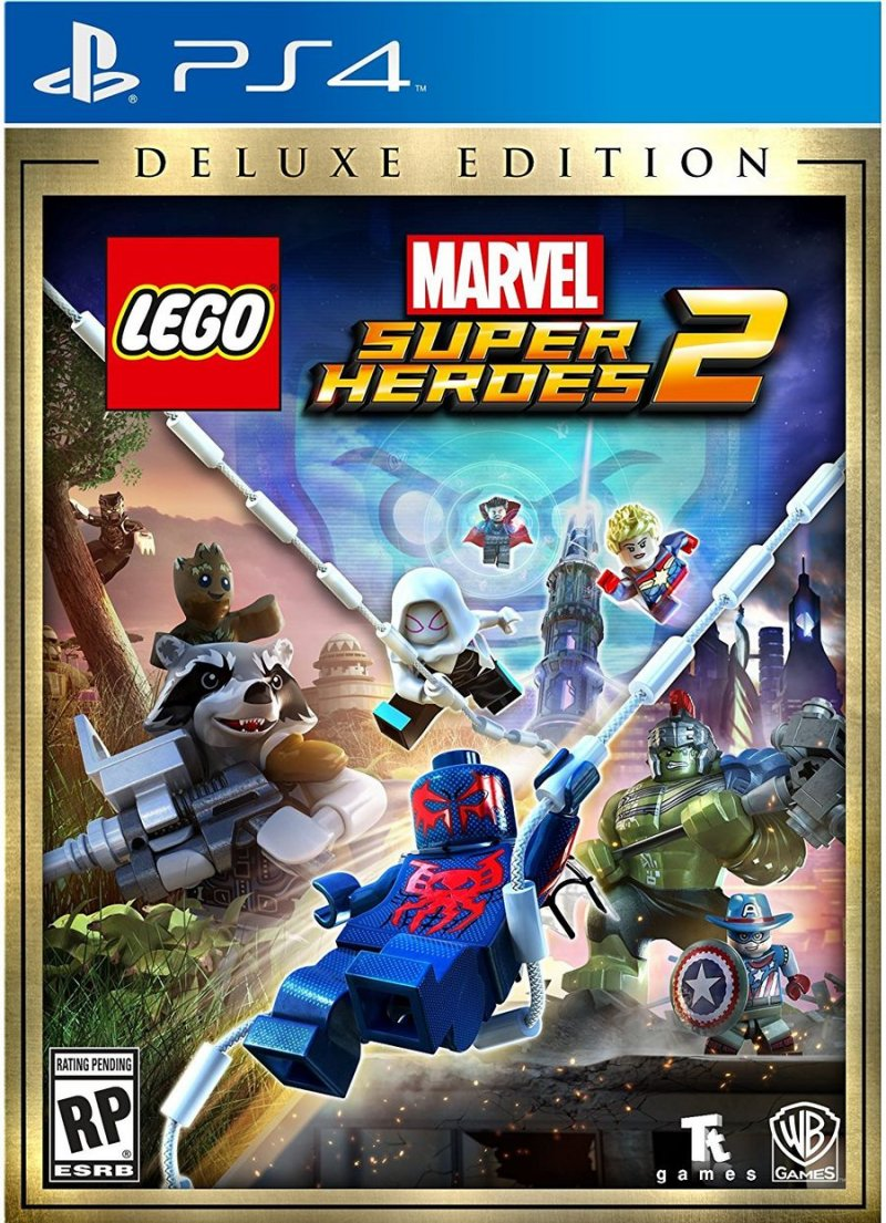 Image of   Lego Marvel Super Heroes 2 - Deluxe Edition - PS4