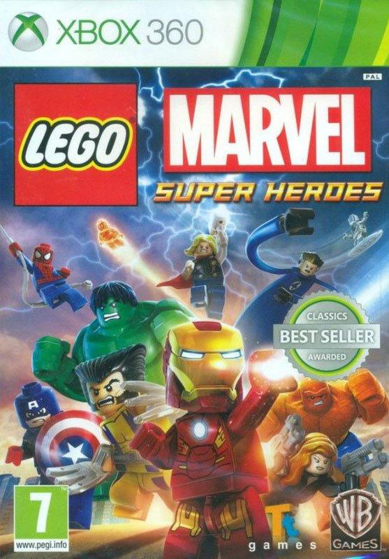 Image of   Lego Marvel Super Heroes - Classics - Xbox 360