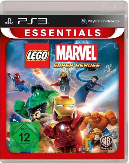 Image of   Lego Marvel Super Heroes (essential) - PS3