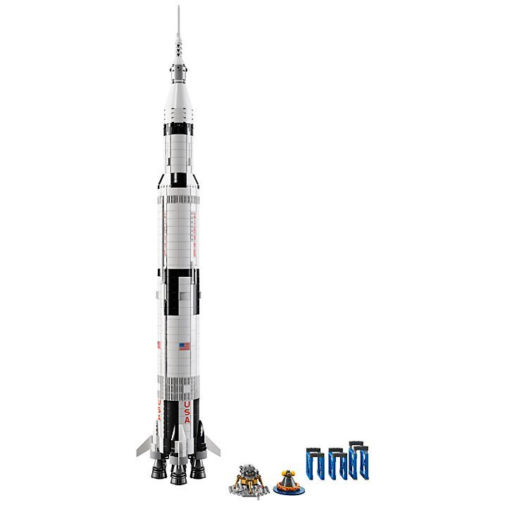 Image of   Lego Ideas 21309 - Nasa Apollo Saturn V