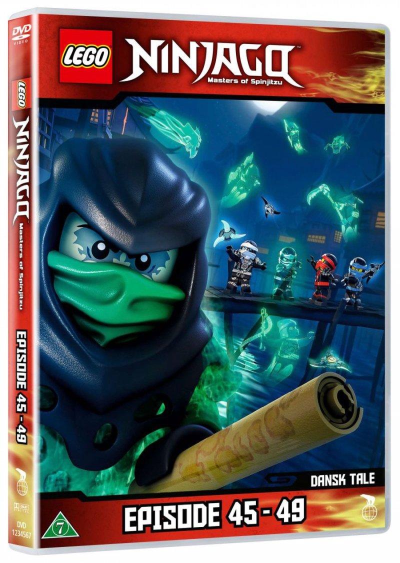 Lego ninjago 11 episode 45 49 dvd film k b billigt her - Ninjago episode 5 ...