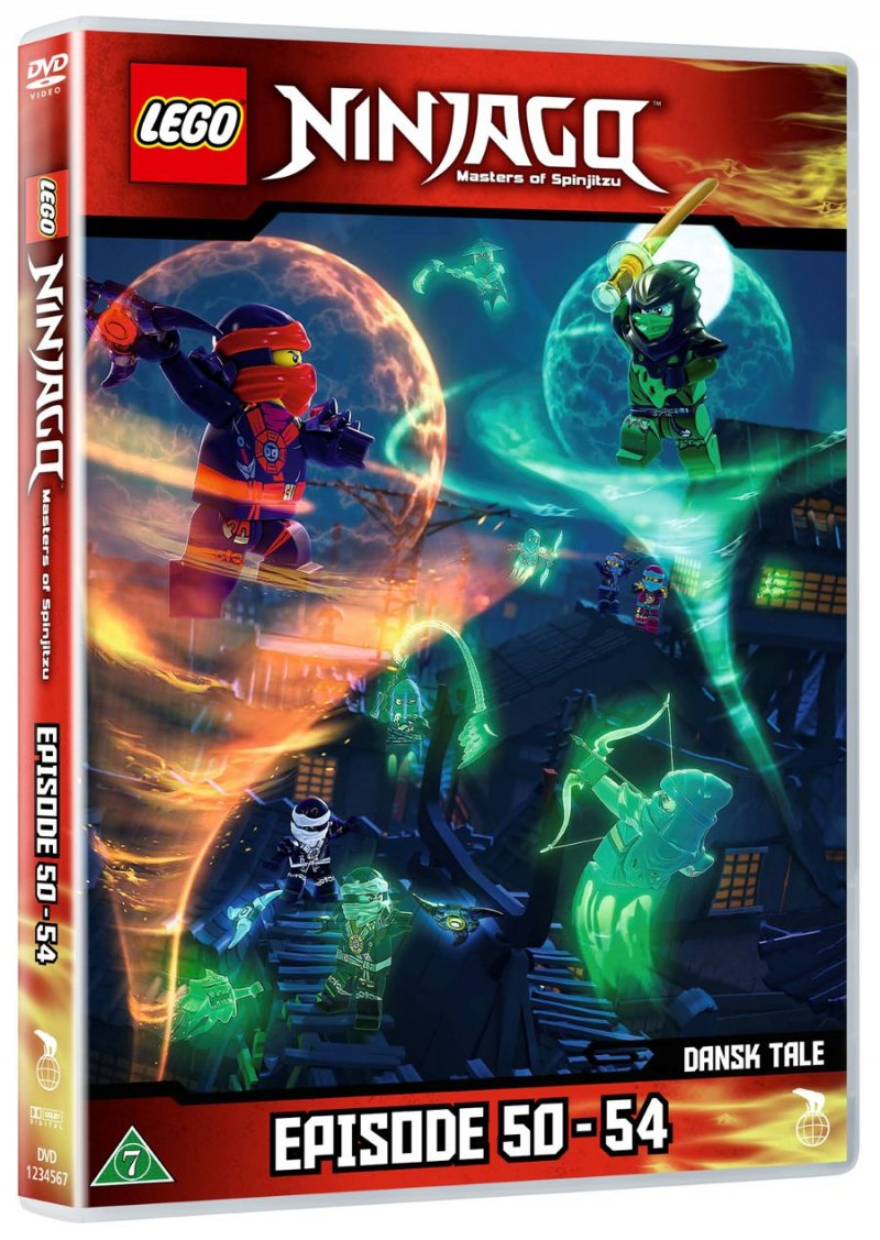 Lego ninjago 12 episode 50 54 dvd film k b billigt her - Ninjago episode 5 ...