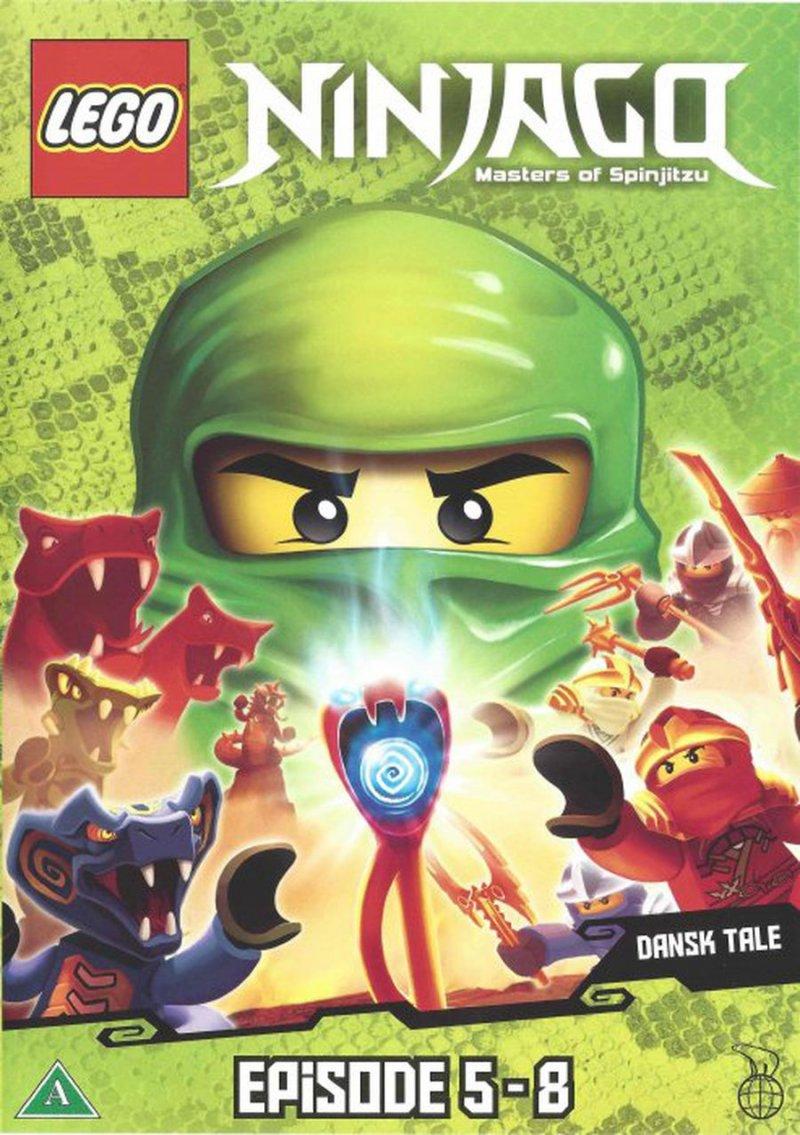 Lego ninjago 2 episode 5 8 dvd film k b billigt her - Ninjago episode 5 ...