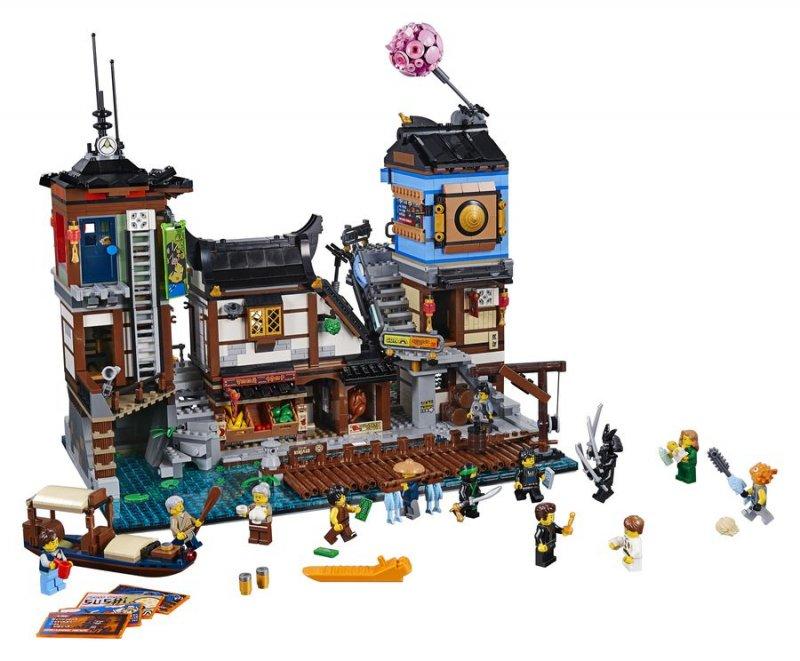 Image of   Lego Ninjago - City Havn Legesæt
