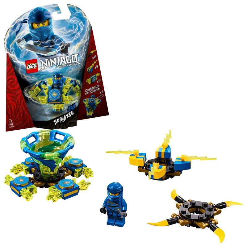 Lego Ninjago - Spinjitzu Jay - 70660