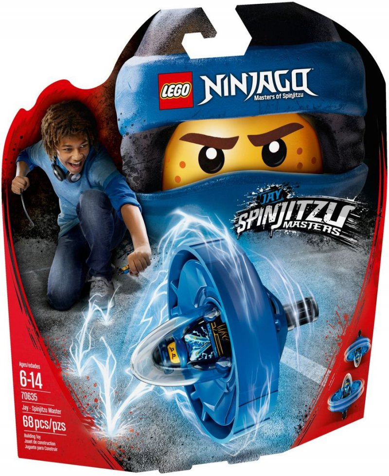 Lego Ninjago 70635 - Spinjitzu Master Jay