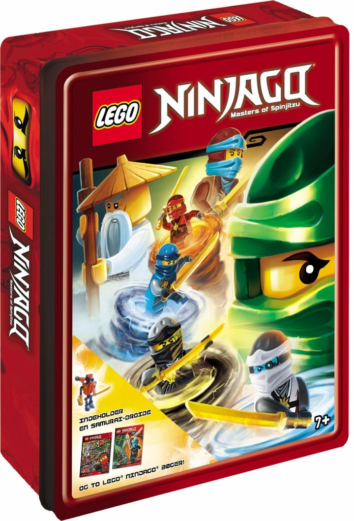 Image of   Lego Ninjago Tinboks - Lego - Bog