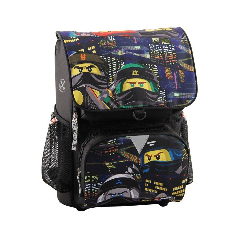 814c08aebb7 Lego Ninjago Skoletaske Sæt I 2 Dele - Optimo Urban → Køb billigt her