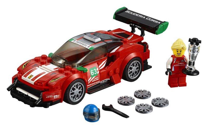 Lego Speed Champions 75886 - Ferrari 488 Gt3 Scuderia Corsa