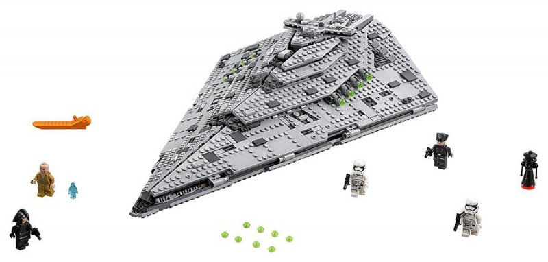 Image of   Lego Star Wars Rumskib 75190 - First Order Star Destroyer