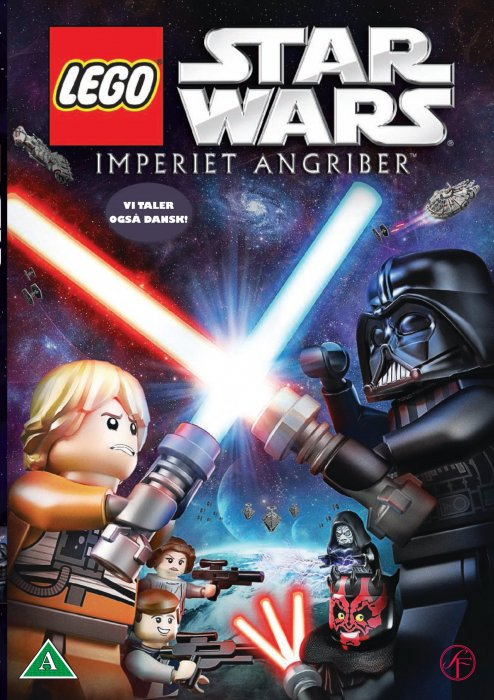 Billede af Lego Star Wars Film - Imperiet Angriber / The Empire Strikes Out - DVD - Film