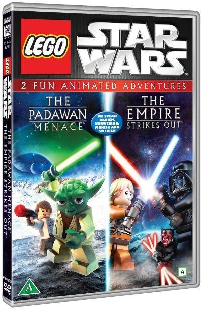 Billede af Lego Star Wars: Padawan Menace // The Empire Strikes Out - DVD - Film