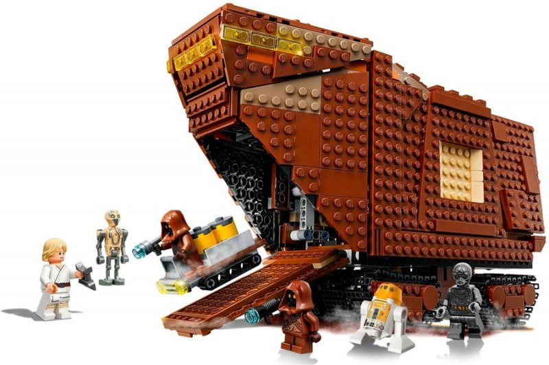 Image of   Lego Star Wars - Sandkravler (75220)